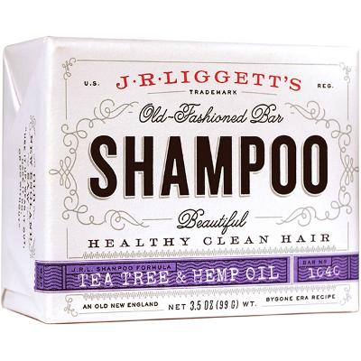 Tea Tree & Hemp Oil Shampoo Bar - J.R. Liggett's