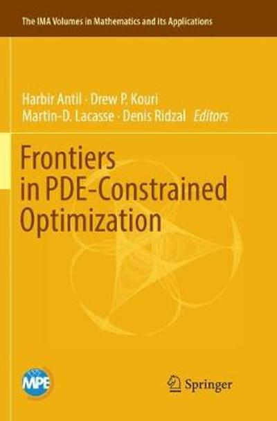 Frontiers in PDE-Constrained Optimization - Harbir Antil