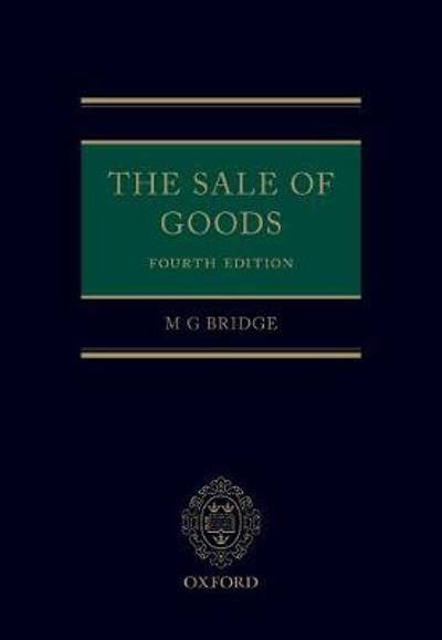 The Sale of Goods - M G Bridge