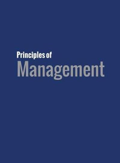 Principles of Management - David S Bright