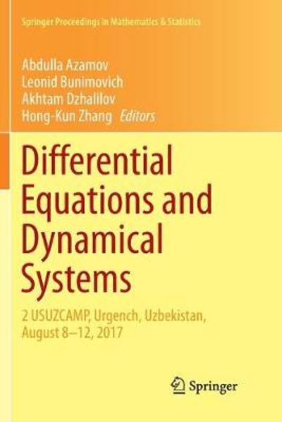 Differential Equations and Dynamical Systems - Abdulla Azamov
