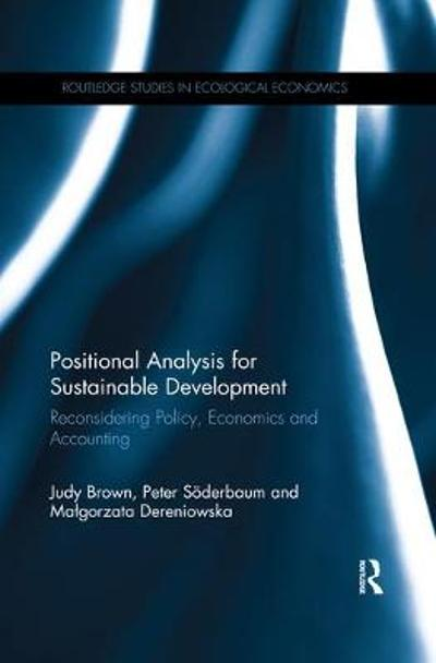 Positional Analysis for Sustainable Development - Judy Brown