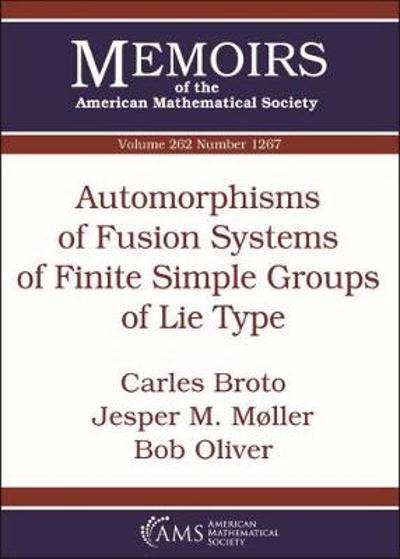 Automorphisms of Fusion Systems of Finite Simple Groups of Lie Type - Carles Broto