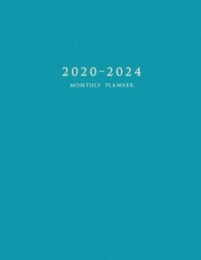 2020-2024 Monthly Planner - Edward Planners
