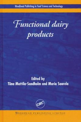 Functional Dairy Products - MATTILA-SANDHOLM T
