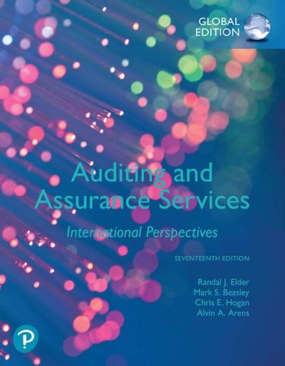 Auditing and Assurance Services, Global Edition - Randal J. Elder