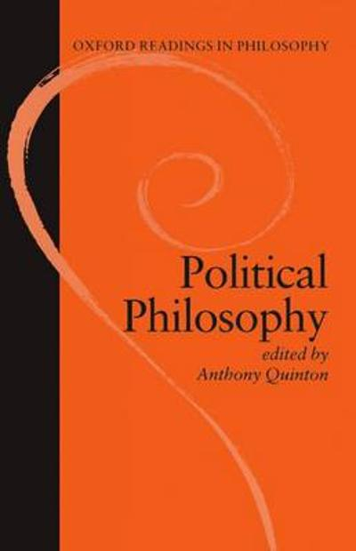 Political Philosophy - A. M. Quinton