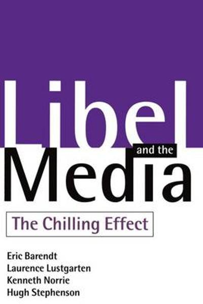 Libel and the Media - Professor Eric Barendt