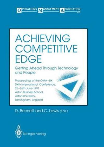Achieving Competitive Edge - David Bennett