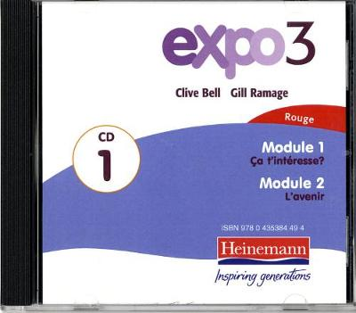 Expo 3 Rouge Audio CDs (pack of three) -