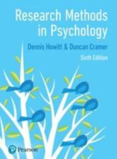 Research Methods in Psychology - Dennis Howitt