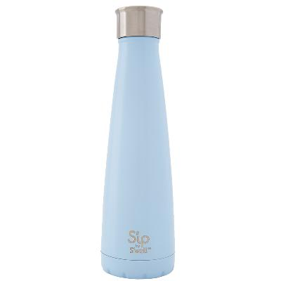 Drikkeflaske 450 ml Cotton Candy Blue - S'ip by S'well