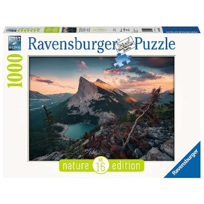 Puslespill 1000 Rocky mountains - Ravensburger