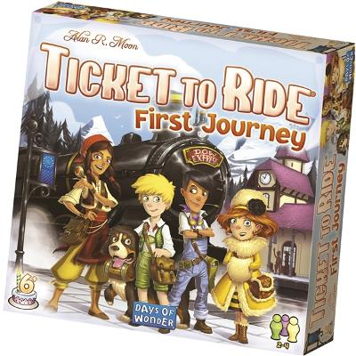 Ticket To Ride First Journey SE - Days of Wonder