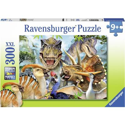 Puslespill XXL 300 Deler Delighted Dinos - Ravensburger