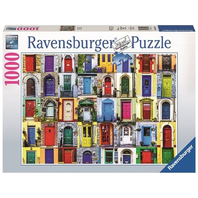 Puslespill 1000 Biter Doors of the World - Ravensburger