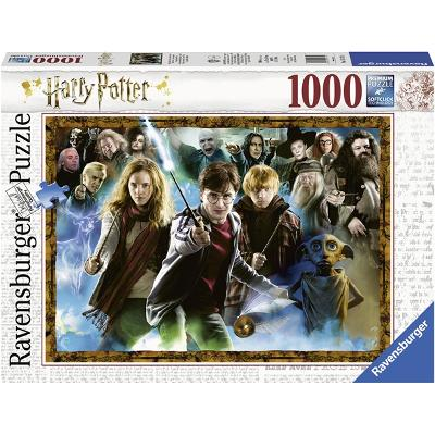 Puslespill 1000 Deler Harry Potter - Ravensburger