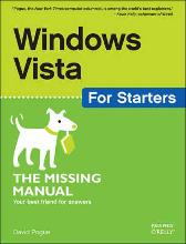 Windows Vista for Starters - David Pogue