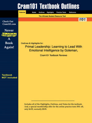 Studyguide for Primal Leadership - 1st Edition Goleman