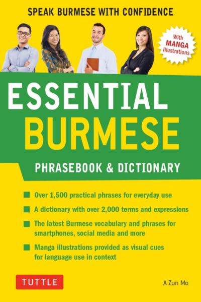 Essential Burmese Phrasebook & Dictionary - A Zun Mo