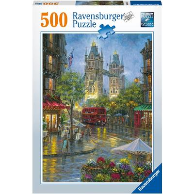 Puslespill 500 Deler Picturesque London - Ravensburger