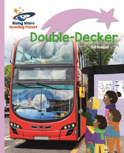 Reading Planet - Double-Decker - Lilac Plus: Lift-off First Words - Gill Budgell