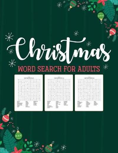 Christmas Word Search For Adults - Patricia Larson