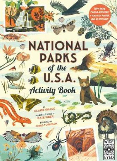 National Parks of the USA: Activity Book - Kate Siber