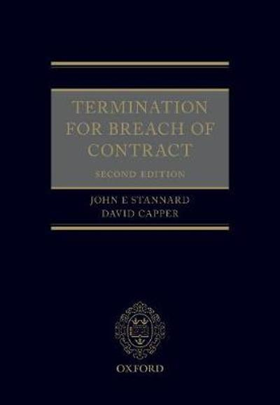 Termination for Breach of Contract - John Stannard