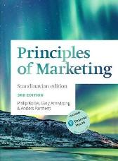 Principles of Marketing Scandinavian Edition - Anders Parment Gary Armstrong  Gary Armstrong