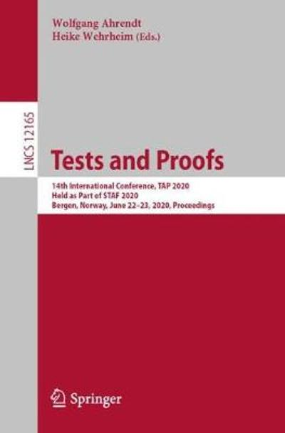 Tests and Proofs - Wolfgang Ahrendt