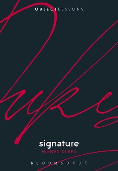 Signature - Dr. Hunter Dukes