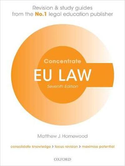 EU Law Concentrate - Matthew J. Homewood