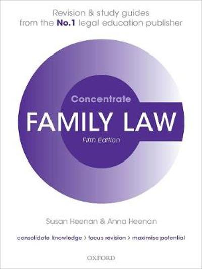 Family Law Concentrate - Susan Heenan