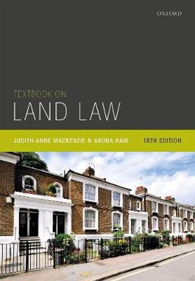 Textbook on Land Law - Judith-Anne MacKenzie