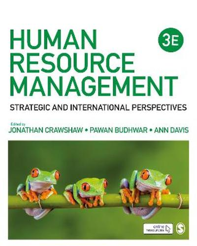 Human Resource Management - Jonathan Crawshaw