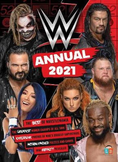 WWE Official Annual 2021 -
