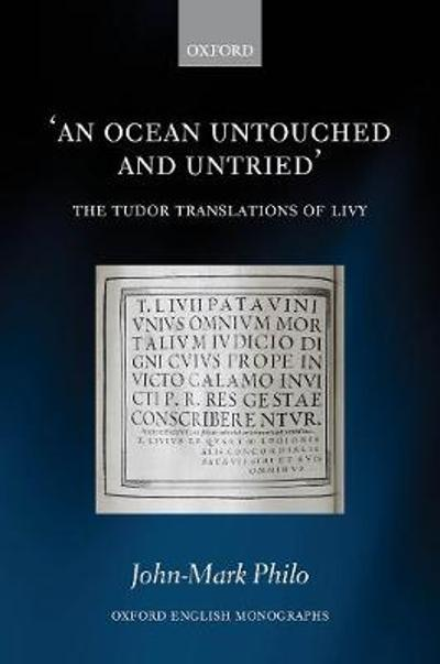 An Ocean Untouched and Untried - John-Mark Philo