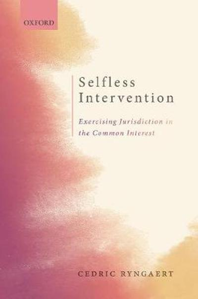 Selfless Intervention - Cedric Ryngaert