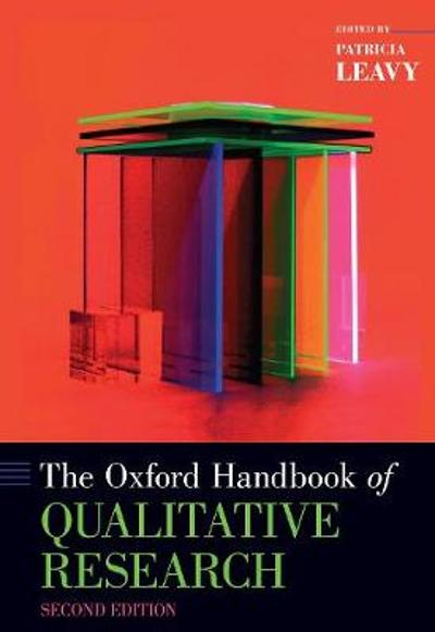 The Oxford Handbook of Qualitative Research - Patricia Leavy