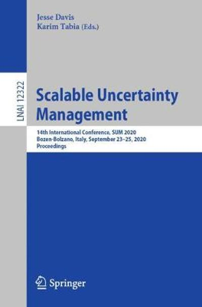 Scalable Uncertainty Management - Jesse Davis
