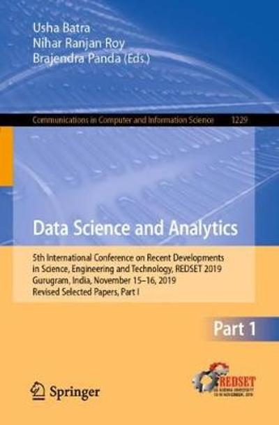 Data Science and Analytics - Usha Batra