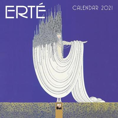 Erte Mini Wall calendar 2021 (Art Calendar) - Flame Tree Studio