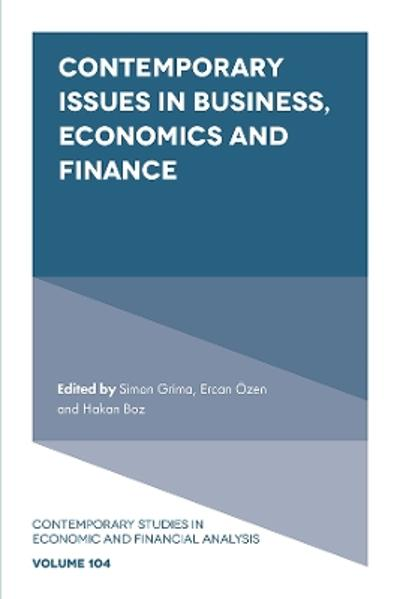 Contemporary Issues in Business, Economics and Finance - Simon Grima