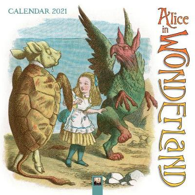 Alice in Wonderland Wall Calendar 2021 (Art Calendar) - Flame Tree Studio