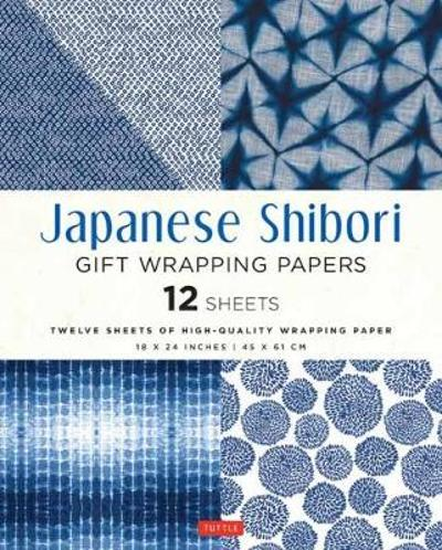 Japanese Shibori Gift Wrapping Papers 12 Sheets - Tuttle Publishing