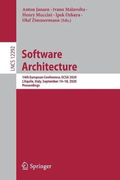 Software Architecture - Anton Jansen