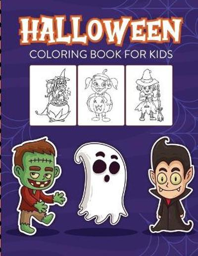 Halloween Coloring Book For Kids - Paige Cooper