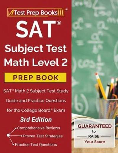 SAT Subject Test Math Level 2 Prep Book - Test Prep Books