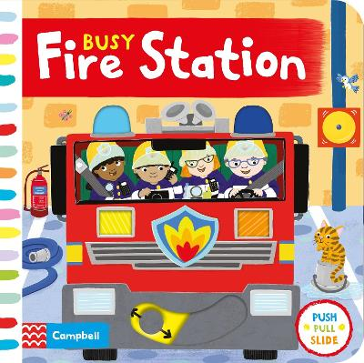Busy Fire Station - Campbell Books